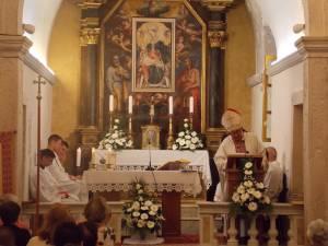 DSCN4222 300x225 - Uzoriti Vinko kardinal Puljić na proslavi Gospe Snježne u Cavtatu
