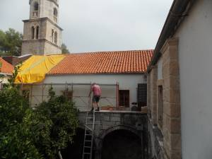 DSCN4245 300x225 - Započeta rekonstrukcija i obnova Crkve Gospe od Snijega u Cavtatu